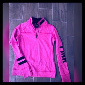 Pink sport pullover